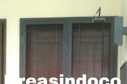 Pintu Kasa Besi Pesanan Bu Anita Puspa Gading Kelapa Gading Jakarta