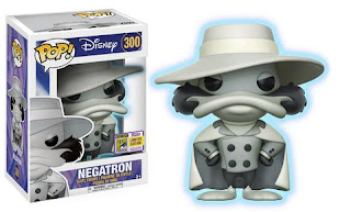 Pop! Disney: Darkwing Duck – Negatron (Glow-in-the-Dark).