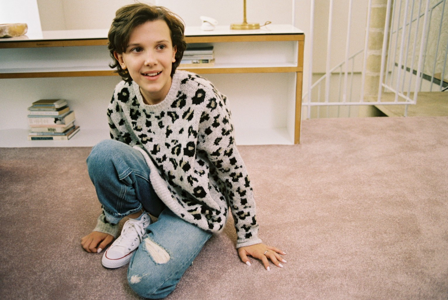 millie bobby brown for converse