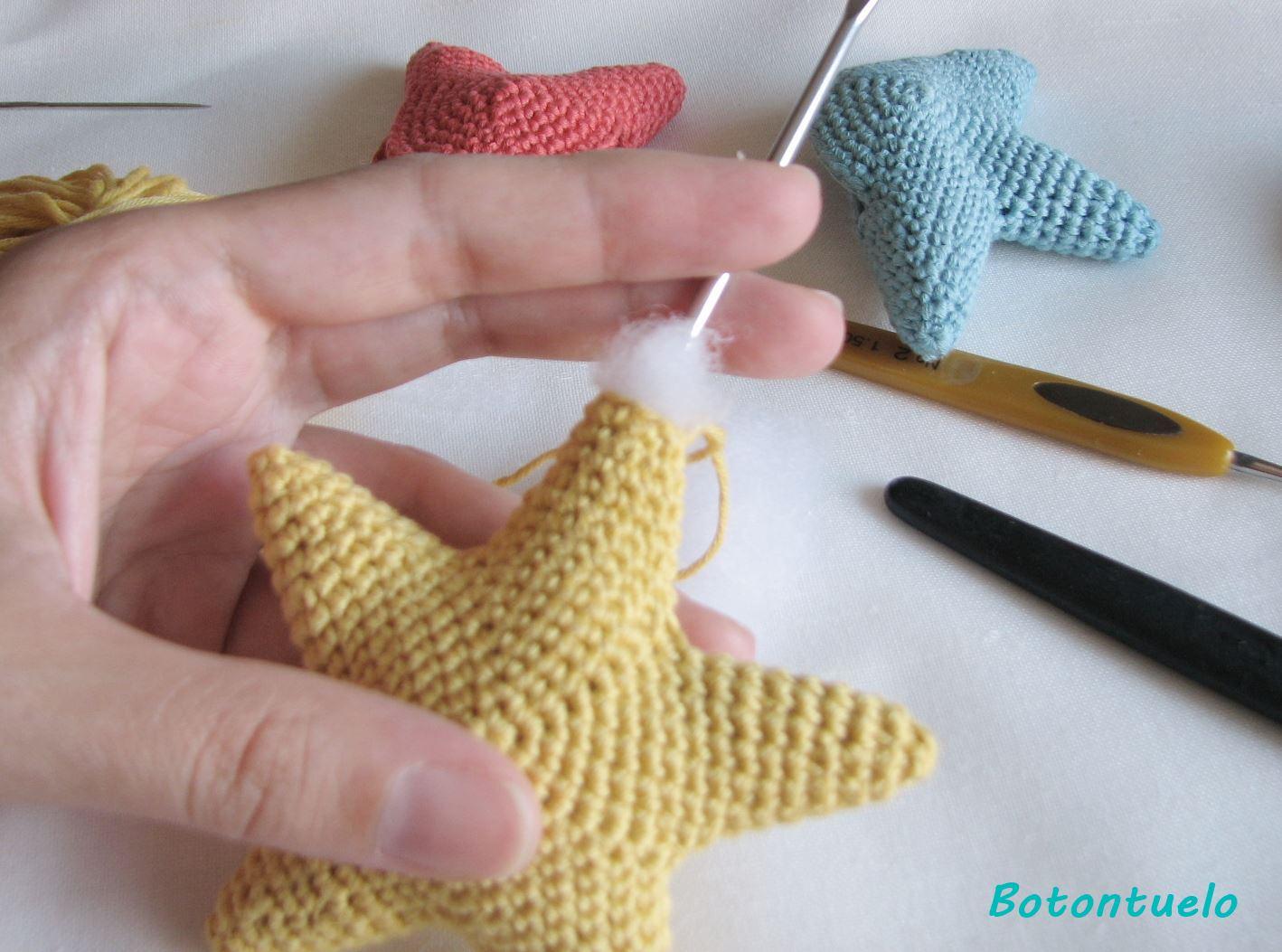 Botontuelo: Patrón Estrella - Little Star Pattern