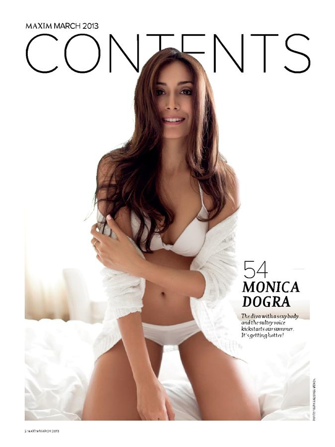 Monica Dogra for Maxim India - More Indian Bollywood