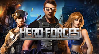Screenshots of the Hero forces for Android tablet, phone.