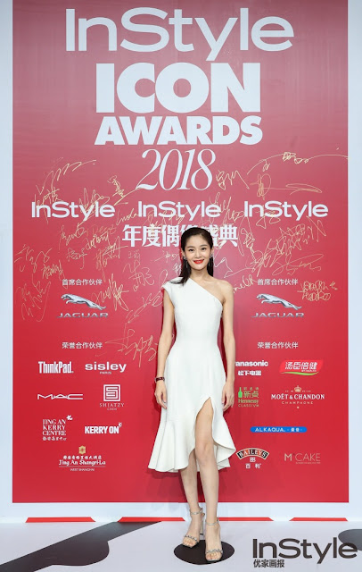 Wang Yuanke red carpet 2018