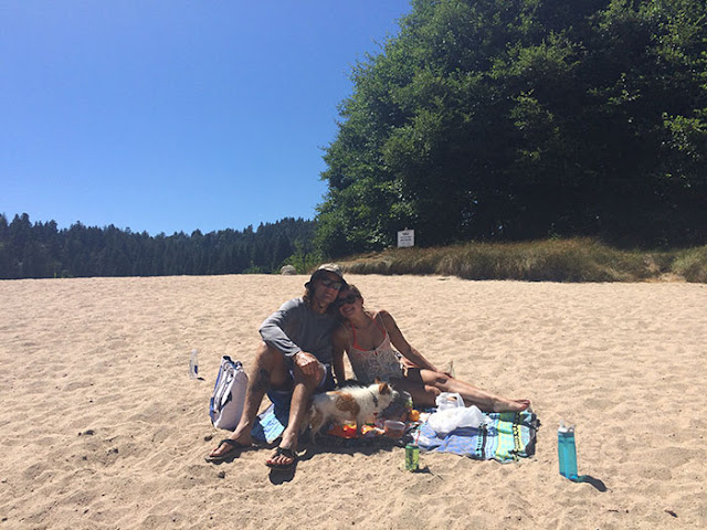 lone pine island, picnic, lake arrowhead
