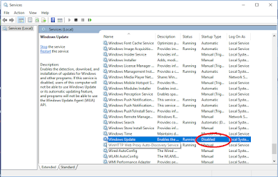 Want to Disable Windows Update in PC ?