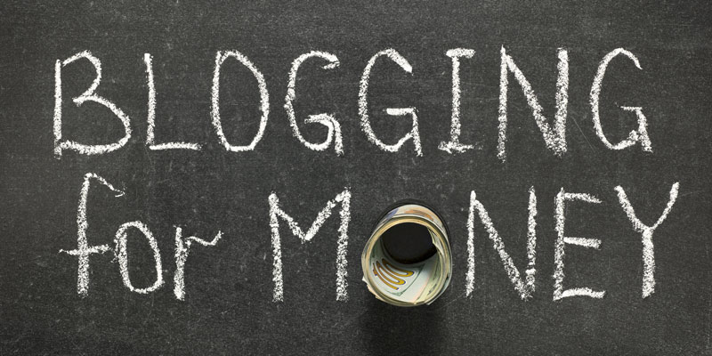 make money with blogging