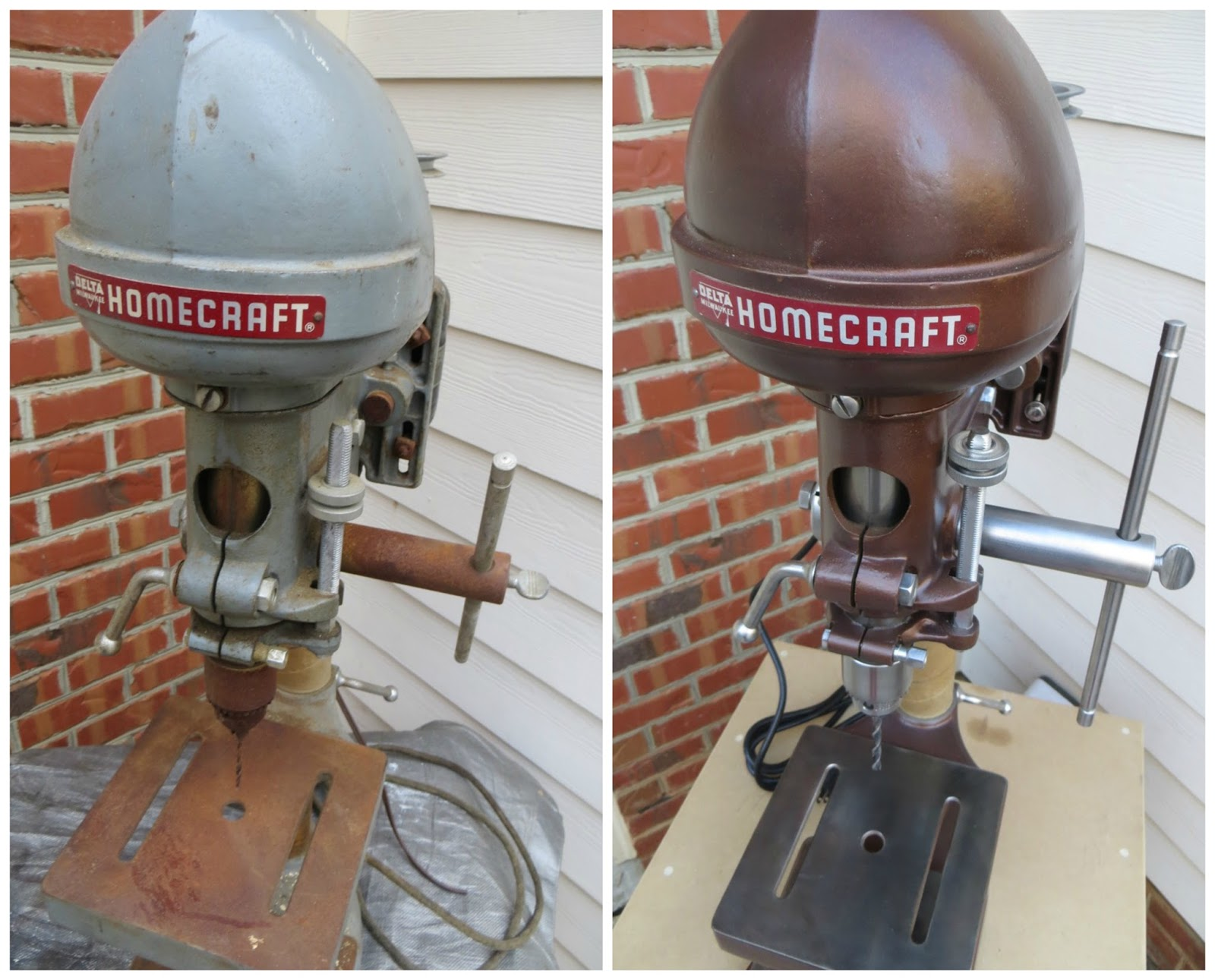 Delta Homecraft Drill Press Restoration