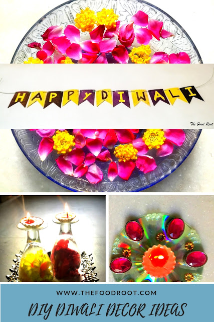Diwali is round the corner. Here are some effortless DIY decor ideas to jazz up those little corners of your home. They'll certainly add an oomph factor to the decoration of your home.
