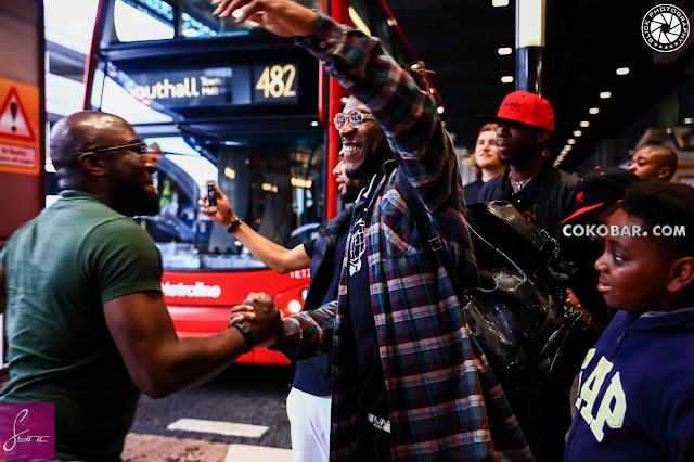 Burnaboy in London for his 2016 Birthday
