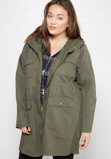 Cargo Utility Jacket Wet Seal
