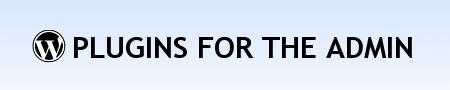 плагины wordpress для админки