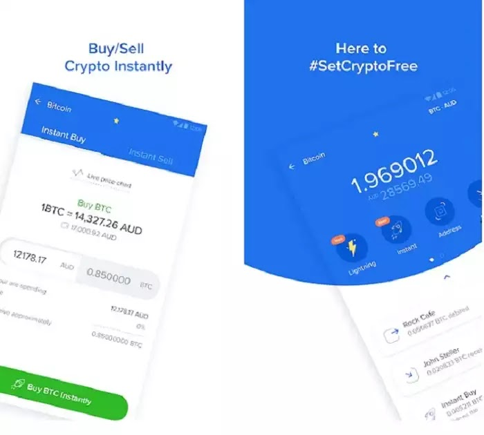 Zebpay - Earning mobile app