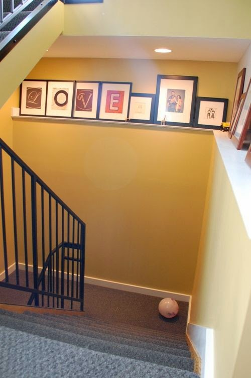 50 Creative Staircase Wall decorating ideas, art frames ... on Creative Staircase Wall Decorating Ideas  id=12757