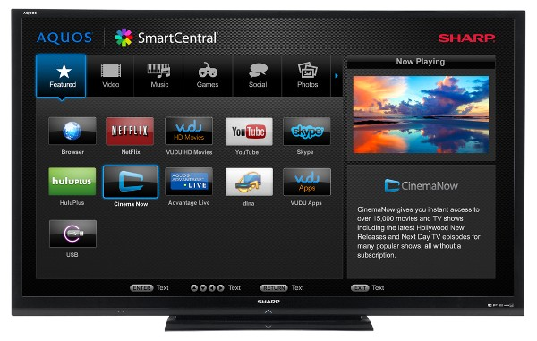 Sharp AQUOS 80-inch 3D TV is the Last high length LED in ...