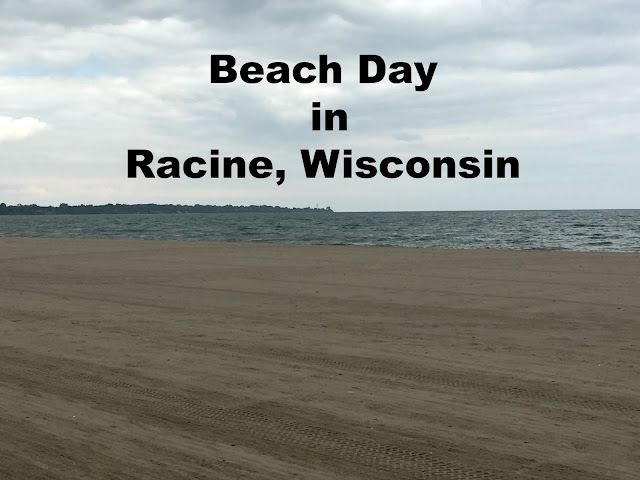 Beach Day in Racine, Wisconsin