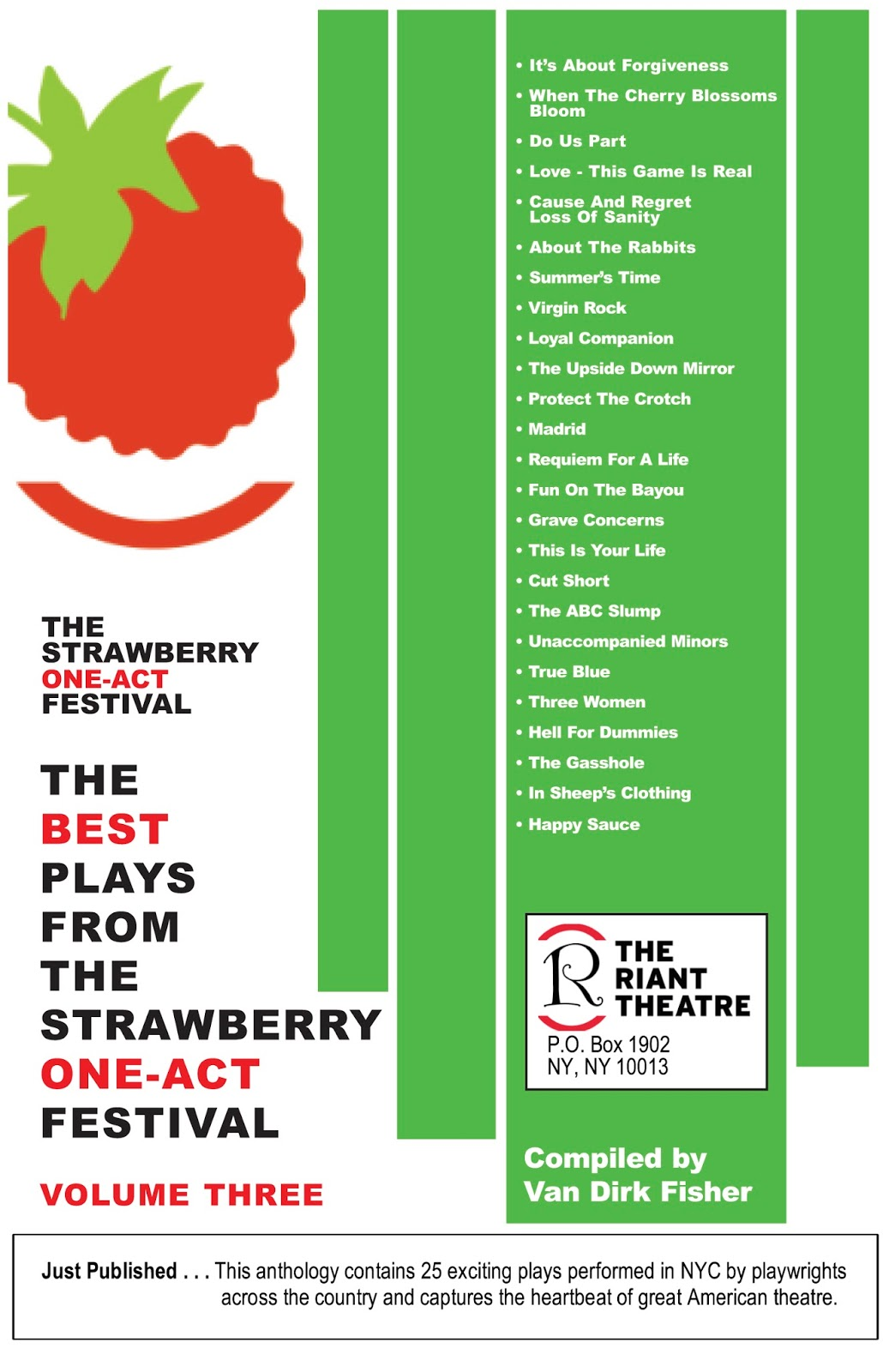 The Best Plays From The Strawberry One-Act Festival Volume 7