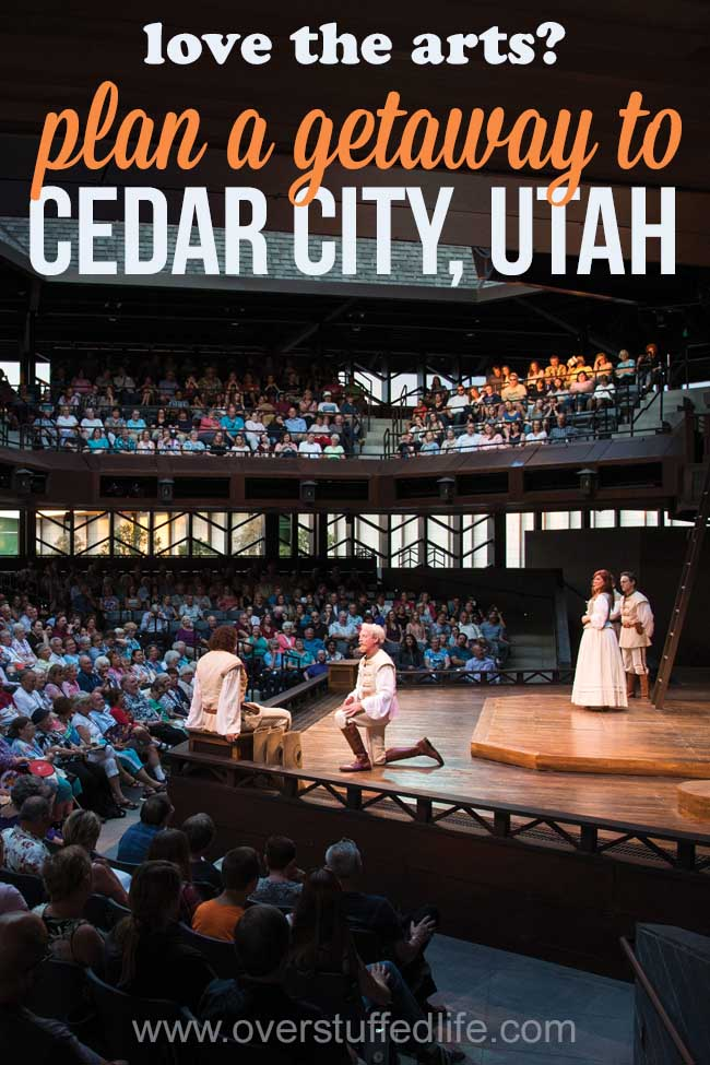 Travel to Cedar City, Utah | Utah Shakespeare Festival | Things to do in Cedar City | Family travel ideas