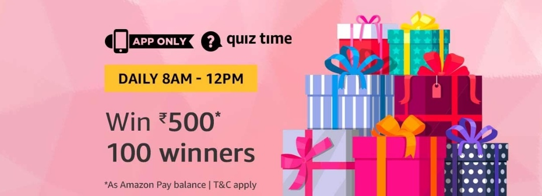 6th september amazon quiz time answer