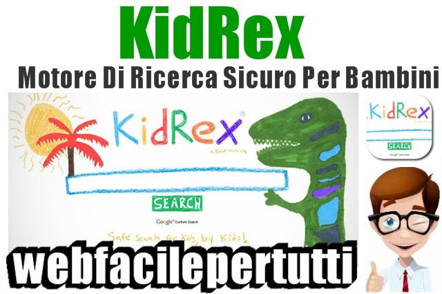 Kid Rex | Motore Di Ricerca Sicuro Per Bambini