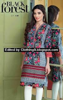 Satrangi Cambric Eid Embroidered Dress