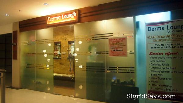 Derma Lounge Facial Spa Bacolod