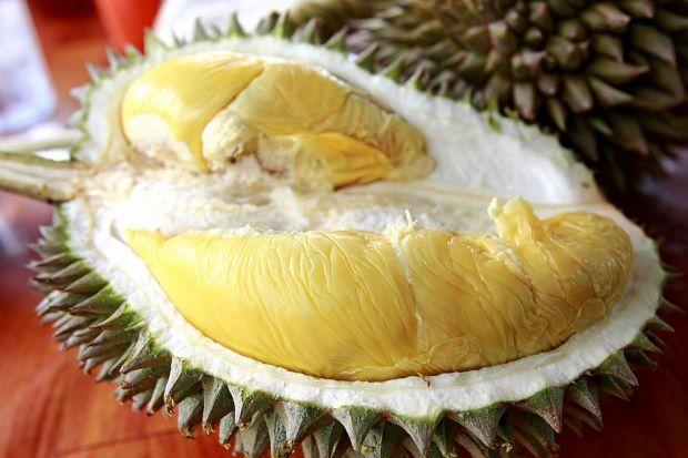 Penjual Durian di Bandar Lampung