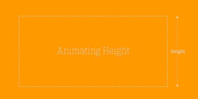 Animating height:auto