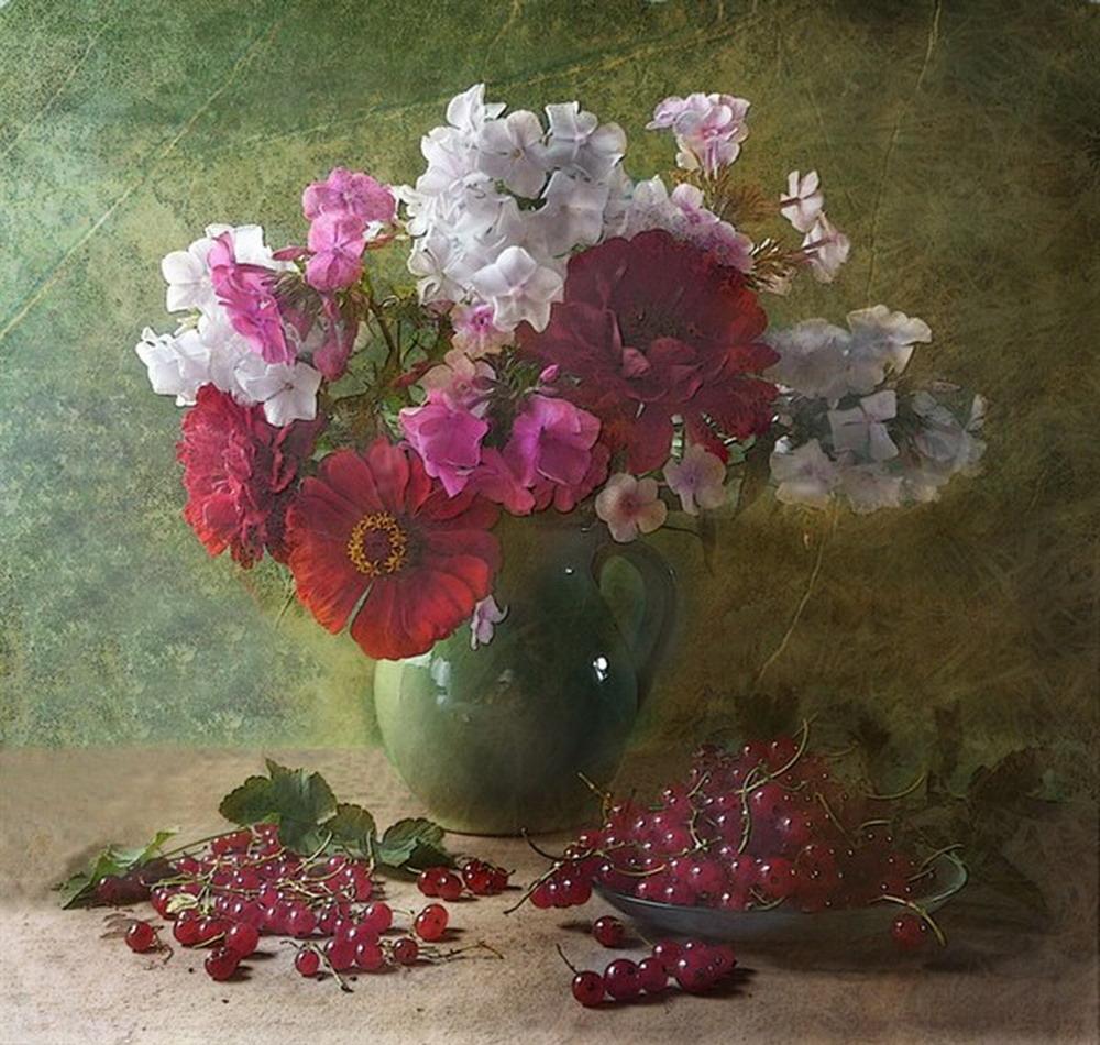 Cuadro de florero y cuadrosdeflores