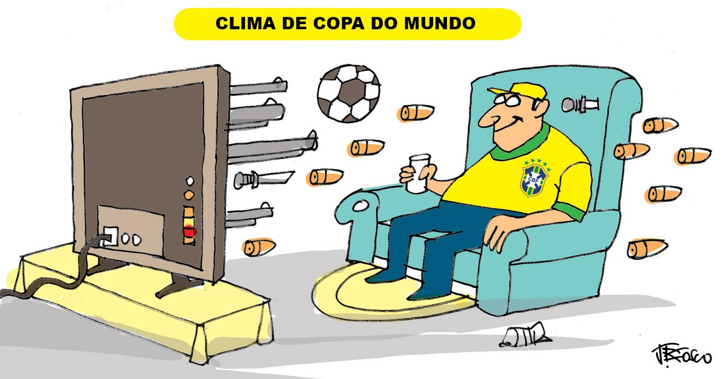 Resultado de imagem para copa do mundo 2018 charges