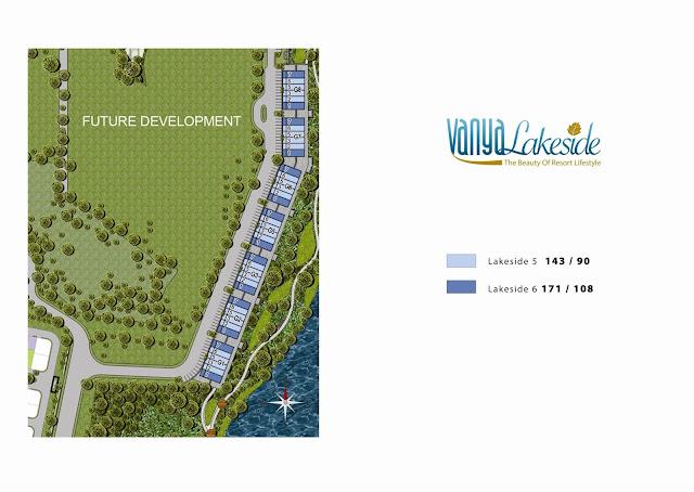 Siteplan Vanya Lakeside