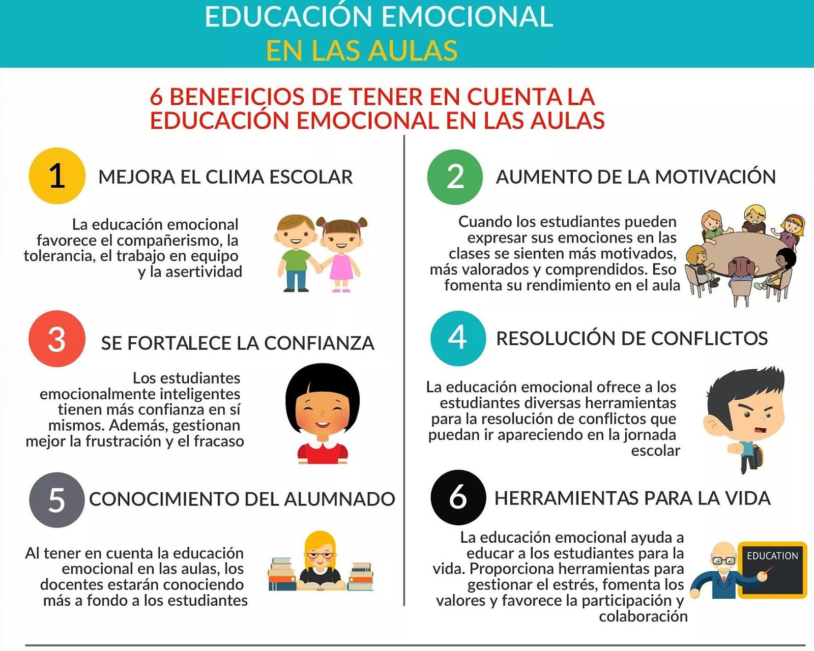 El píxel del bosque: Beneficios de la Educación Emocional