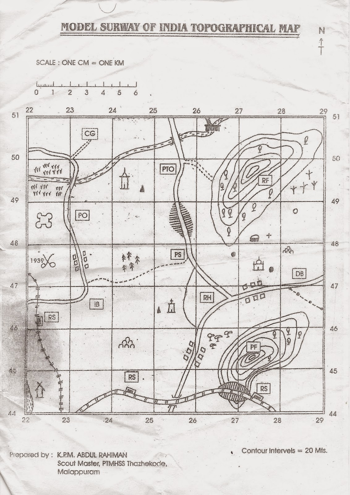 Scouts and Guides : MAP REFERENCE FOR RAJYAPURAKAR