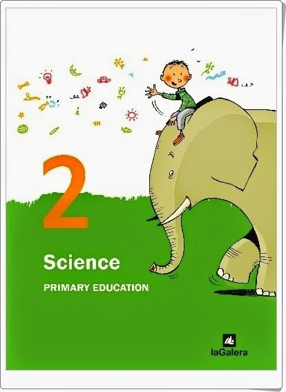 """Libro Digitalizado de Science de 2º de Primaria de Editorial La Galera"""