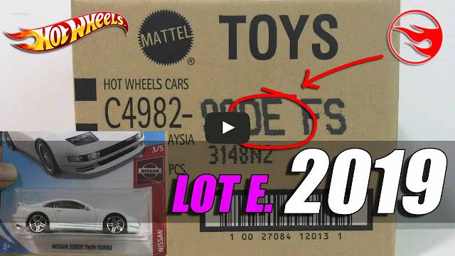 Hot Wheels lot Lot E 2019