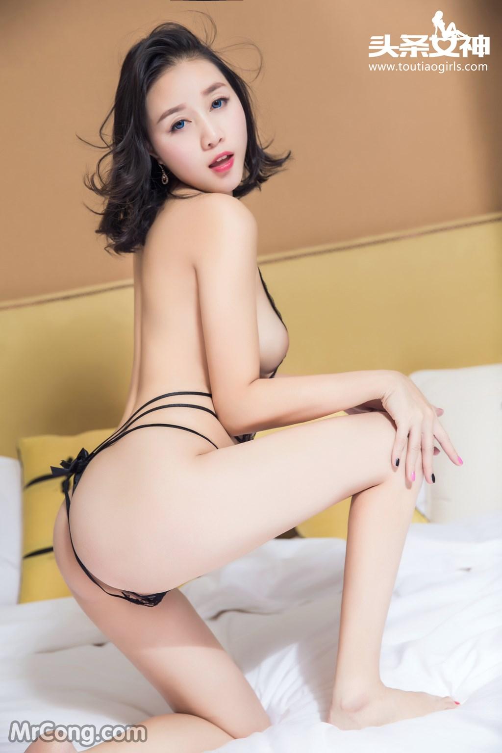 Image MrCong.com-TouTiao-2016-12-14-Zhang-Zi-Ran-007 in post TouTiao 2016-12-14: Người mẫu Zhang Zi Ran (张梓然) (24 ảnh)