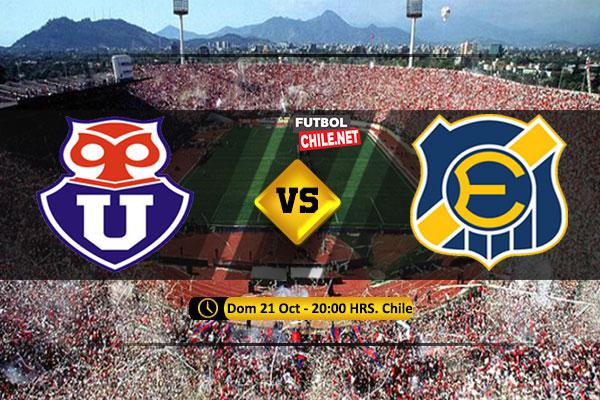 Mira Universidad de Chile vs Everton en vivo y online por la Primera División