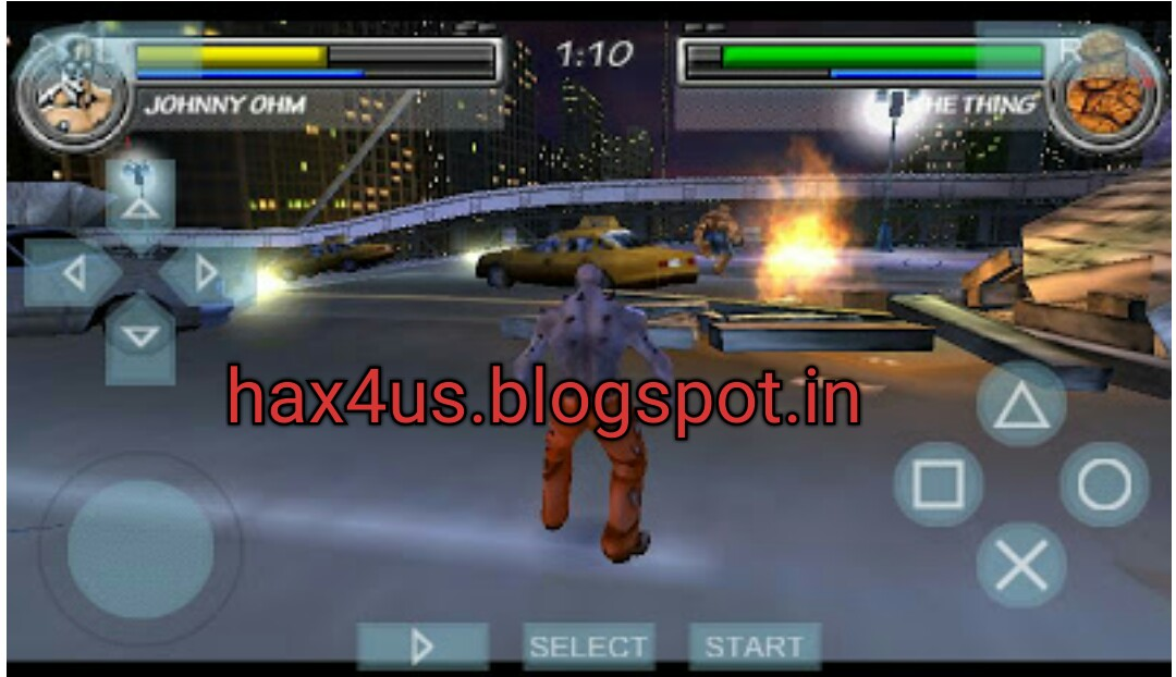PSP) Marvel Nemesis : Rise Of The Imperfects Full Game