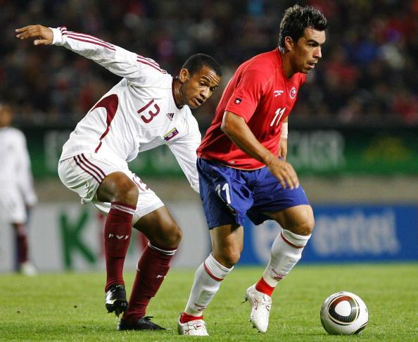 Chile y Venezuela en partido amistoso, 31 de marzo de 2010