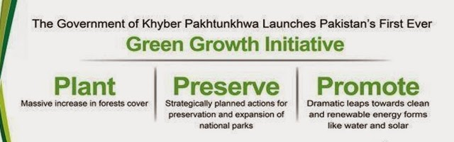 KP gov Pk Green Growth News