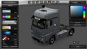 Medion Gray Skin for Mercedes MP4