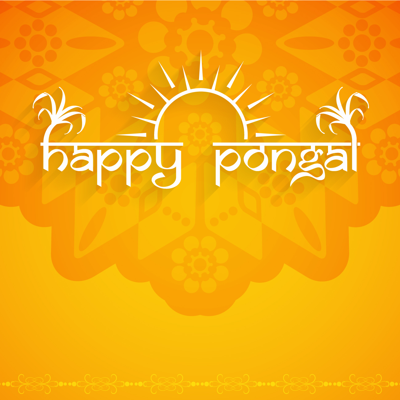 Happy Pongal 2017 Images