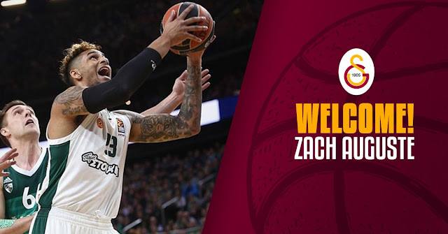 Zach Auguste resmen Galatasaray'da!