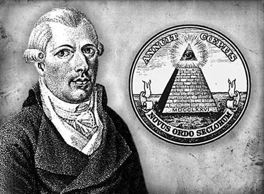 Вейсгаупт – основатель общества иллюминатов и символ