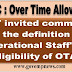 """7th CPC OTA : DoPT invited comments on the definition of """"Operational Staff"""" for eligibility of OTA."""