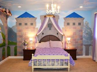 Decoración de habitación para niñas