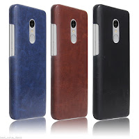 Redmi Note 4 Leather Back Cover