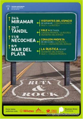 Ruta y rock en Necochea