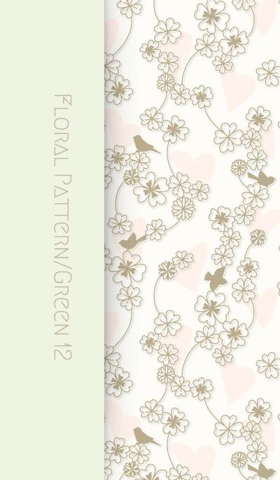 Floral Pattern[Clover]/Green12