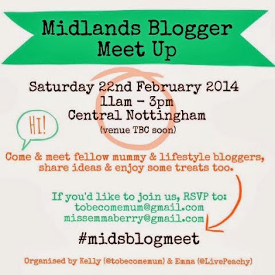 Exciting Announcement: Midlands Bloggers Meet Up!