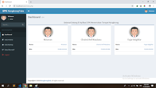 dashboard source code aplikasi spk metode topsis